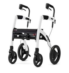 Rollz Motion² som rollator Pebble White