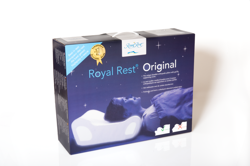 Royal Rest Original, ortopedisk nackkudde
